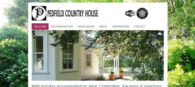 Pedfield Country House B&B | Rates from NZ$80