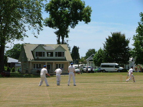 Cambridge Cricket Ground Summer of 2008