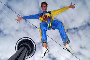 Auckland Skywalk and skyjump