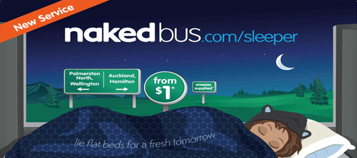 NEW SERVICE - Agents for Nakedbus.com